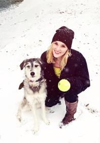 Snow Day with Sasha