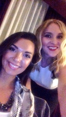 Post makeup selfie with Nadia